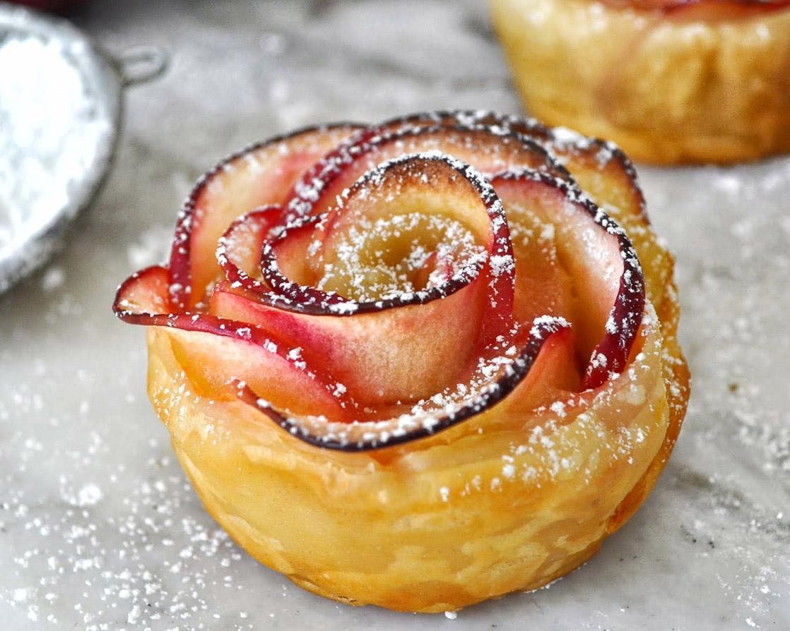 Рецепты десертов с яблоками